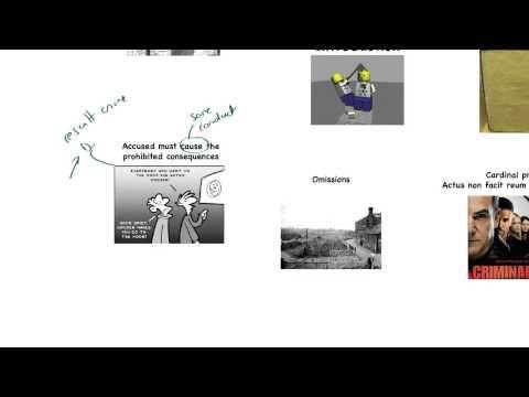 An introduction to Actus Reus - YouTube