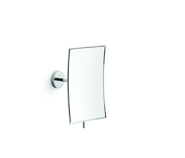Linea Wall Mounted 3X Swivel Cosmetic Makeup Magnifying Mirror Polished Chrome