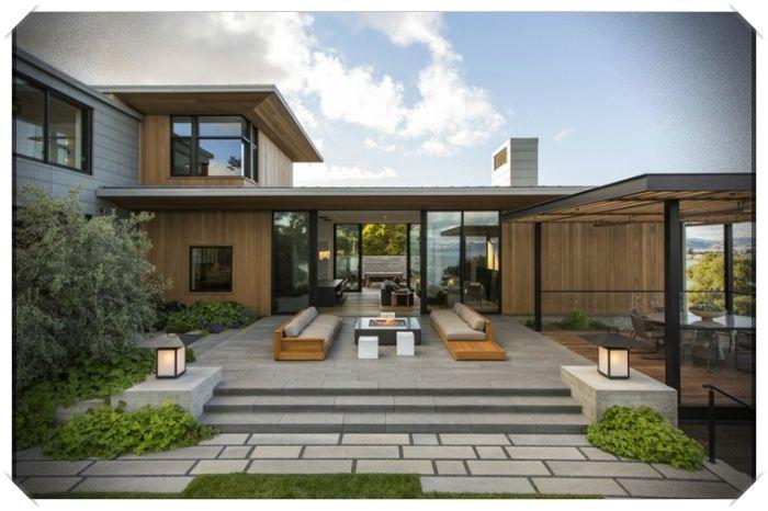 Diseno Exterior De Casas Modernas Ejemplares Para Actualizar Nuestra Vivienda Exteriores De Casas Modernas Diseno Exterior De Casa Diseno Exterior