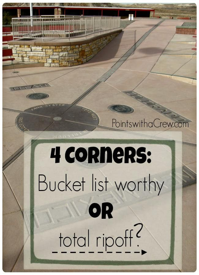 Is 4 corners monument bucket list worthy, or a total ripoff? Find out what you need to know before visiting Four Corners USA!