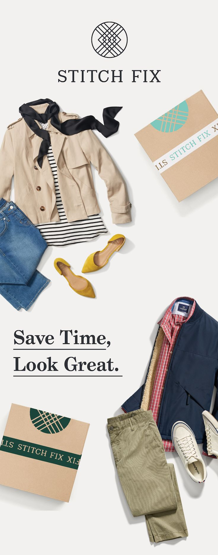 You've got to try this! Stitch Fix is the personal styling service for men