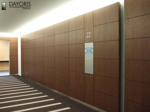 Plywood Paneling With Spacers... Great Wall Treatment In A Modern House.
