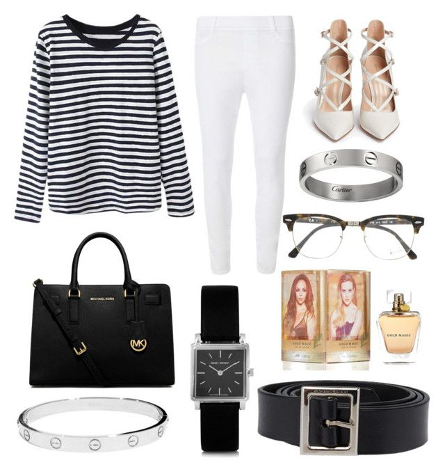 """""""Untitled #5"""" by oktaeprimsus on Polyvore featuring Dorothy Perkins, Gianvito Rossi, MICHAEL Michael Kors, Isabel Marant, Cartier, Dolce&Gabbana and Ray-Ban"""