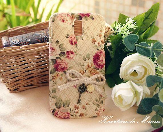 Diy Handmade Cloth Art Phone Case no.28a  Red door HeartmadeMacau, $19.99