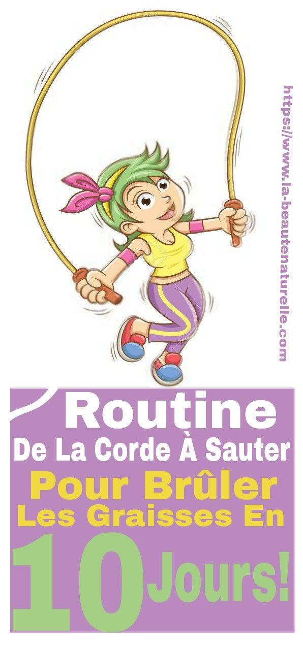 Routine De La Corde A Sauter Pour Bruler Les Graisses En 10 Jours Corde Bruler Graisses Sports Character Blog