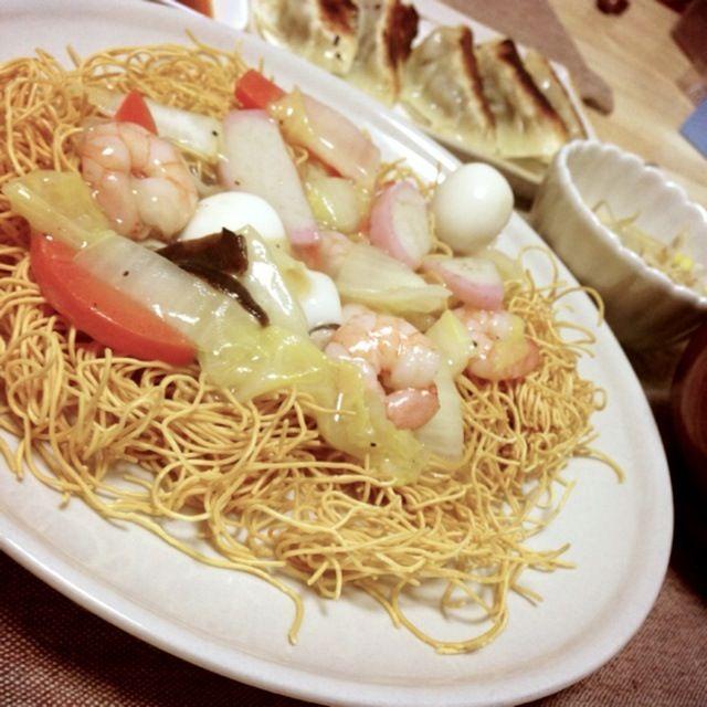 たまに食べたくなる♡ パリパリとトロトロの具合が最高! - 12件のもぐもぐ - 皿うどん by Erina