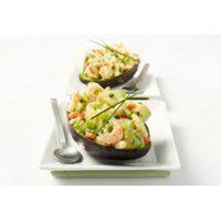 Avocat farci aux crevettes de Matane (recette SAQ)