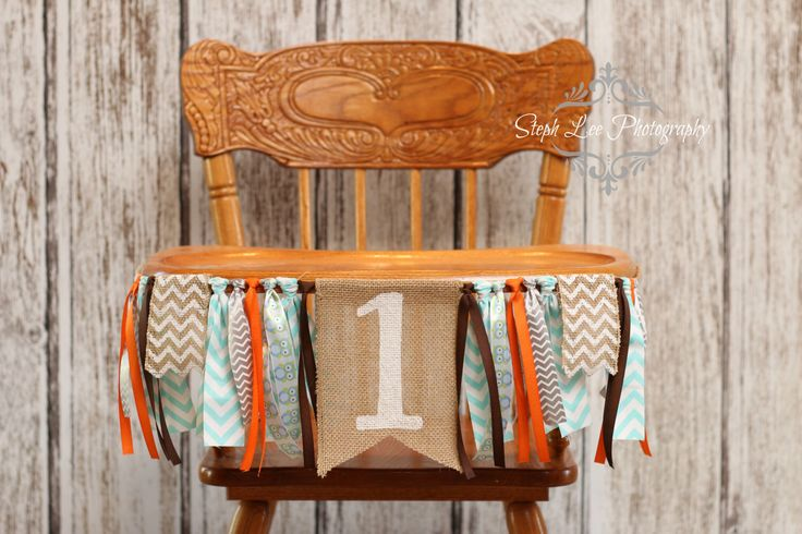 Woodland Owl Burlap High Chair Banner, Woodland 1st Birthday, Owl First 1st Birthday, Fall 1st Birthday, Orange and White First Birthday by PhotograMomProps on Etsy (null)