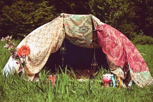 hippy tent