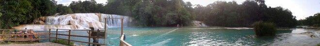 Cascadas de Agua Azul, Chiapas