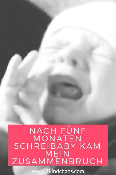 Tabuthema Depressionen. Nach fünf Monaten Schreibaby kam mein Zusammenbruch - 2KindChaos Eltern Blogazin  #mama #mamablog #baby #depression #schreibaby