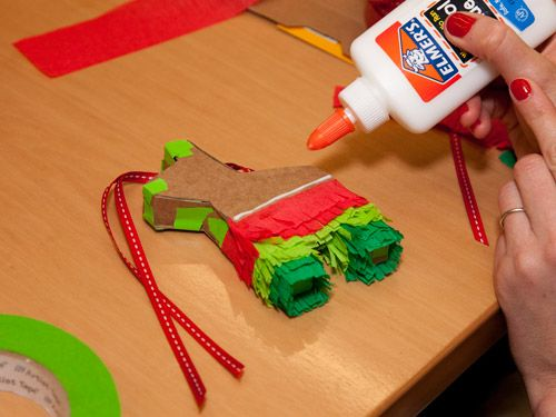 How to Make a Piñata Ornament | Pinata cookies, Cinco de Mayo and ...
