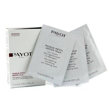 Payot Masque-Patch Design Yeux (For Mature Skin) - 10x1.5ml/0.05oz by Payot. $82.42. 10x1.5ml/0.05oz. Integrates Essential Fatty Acids in this dual-performance system Improves collagen fiber network to enhance skin activity Helps smooth & decongest delicate skin under eye area Effectively diminishes wrinkle, dark circles & puffiness Visibly reduces signs of fatigue & eyes look younger Suitable for all skin types - Payot - Eye Care