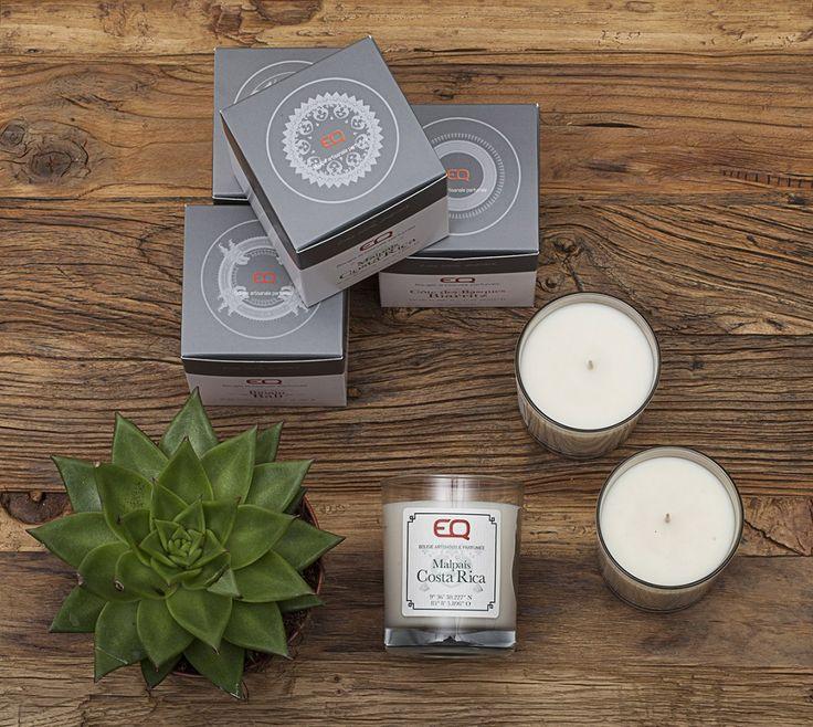 EQ Aroma par @eql0ve, une gamme de bougies parfumées 100% naturelles