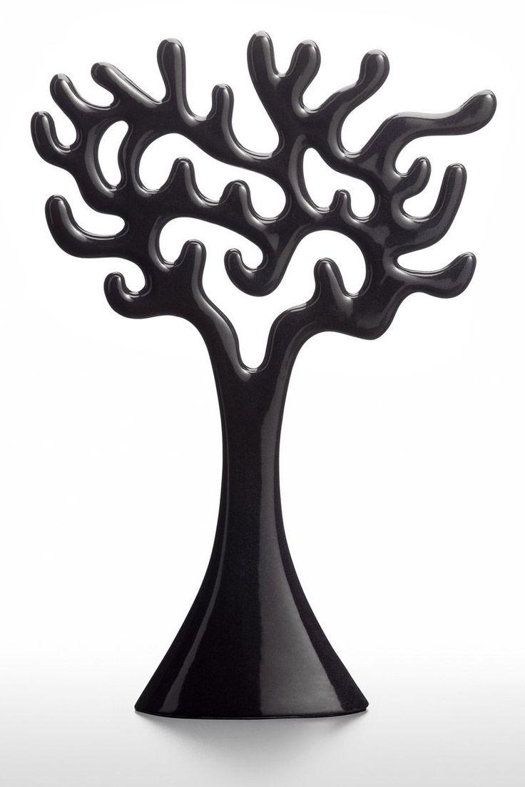 Lumoava The Jewellery Tree Musta - Kultatähti.fi verkkokaupasta