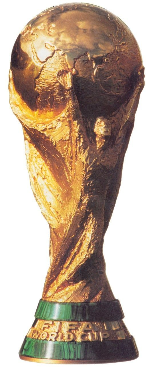 The FIFA World Cup Trophy is awarded every four years to the country that wins the FIFA World Cup, currently held by Spain.