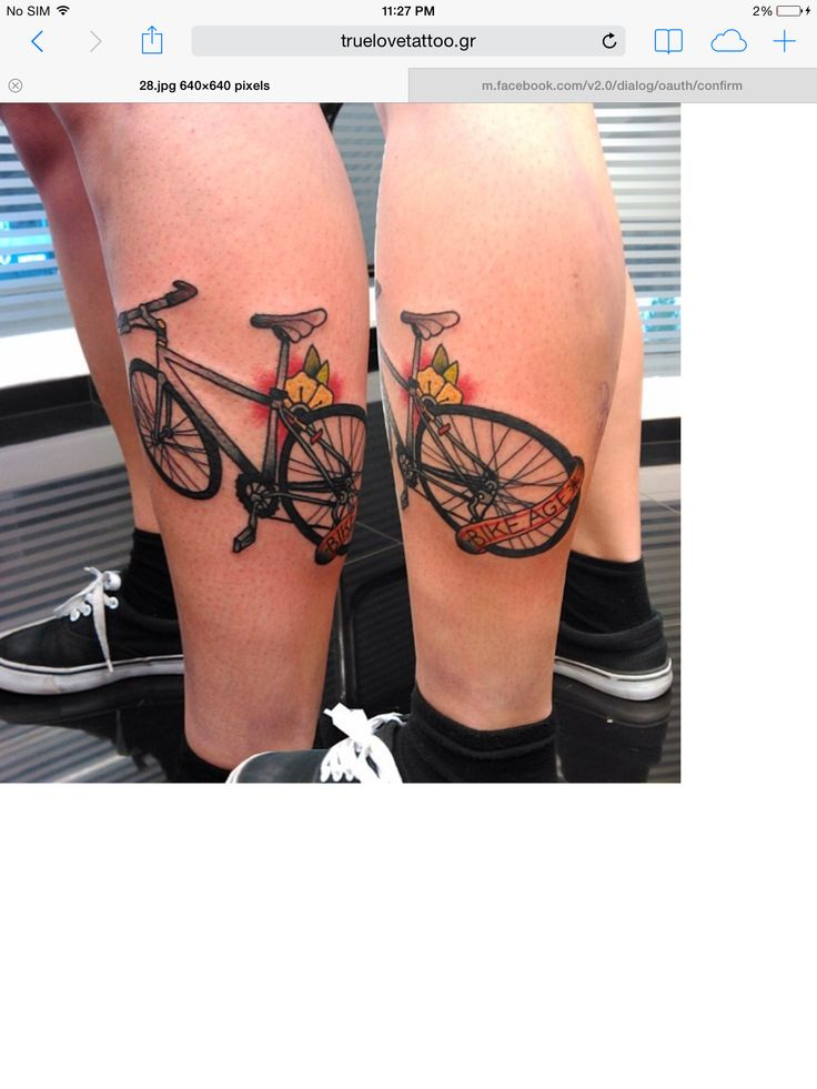 108 best Cycling tattoo images on Pinterest | Cycling tattoo ...