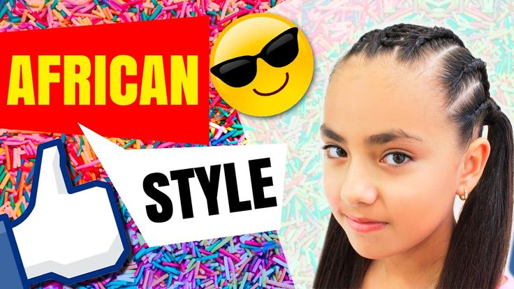 Trenza Africana con cola | african hair | african style