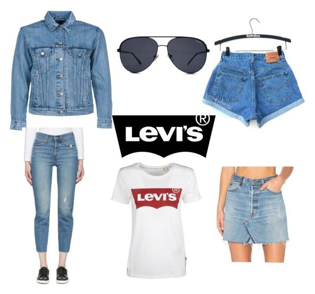 """""""levi´s"""" by enjalundin on Polyvore featuring Levi's and RE/DONE"""