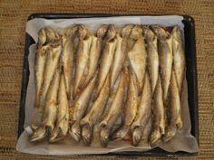 Ψάρια τηγανιτά....στο φούρνο