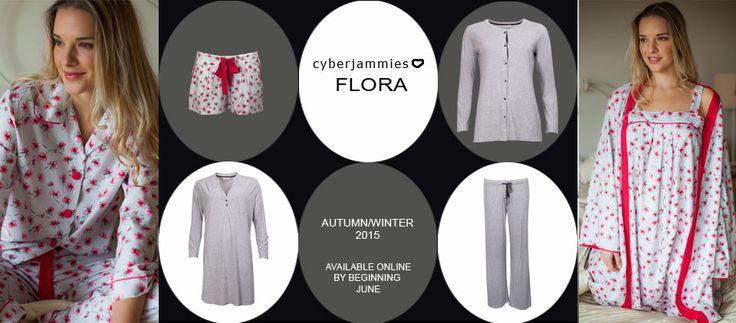 Lookbook by Cyberjammies Flora Range available online from June 2015