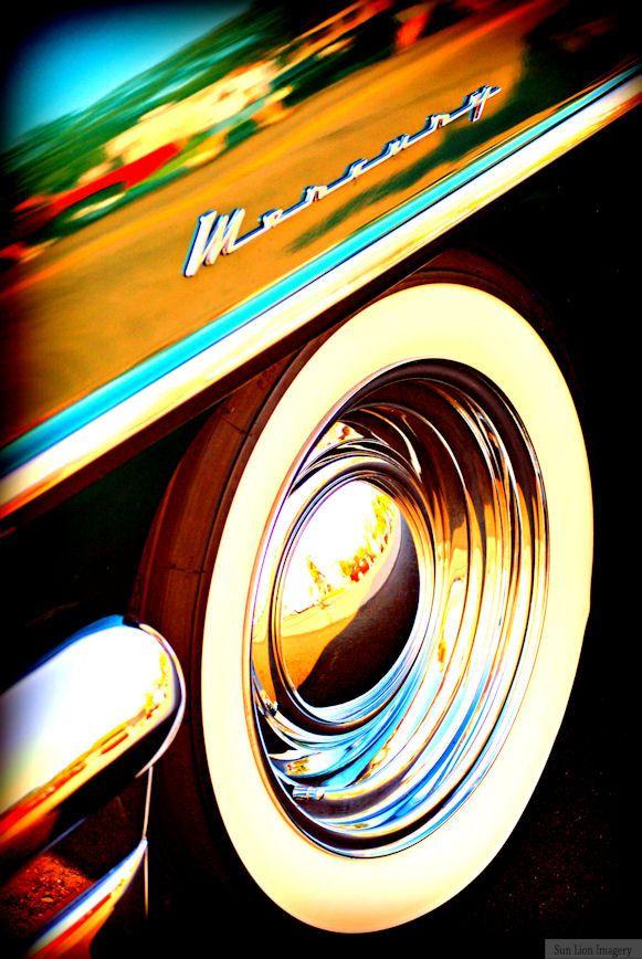 Classic Mercury - Rustic Wall Art - Classic Car Art Prints - Retro Print - Vintage Car Photography - Garage Art