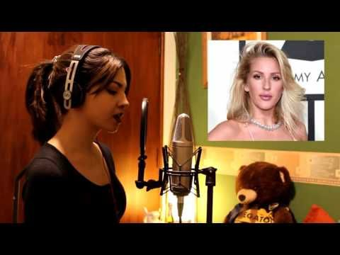 1 GIRL 15 VOICES (Adele, Ellie Goulding, Celine Dion, and 12 more) - YouTube