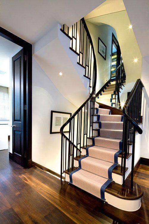 Foyer Staircase Uk : Ideas about split level entryway on pinterest