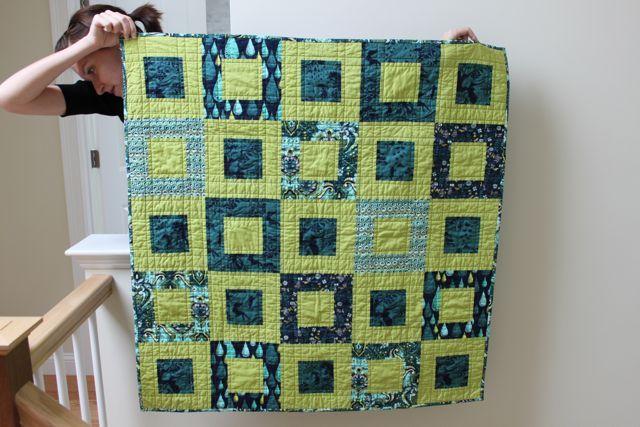 Frames by E Hartman, Tula Pink fabric
