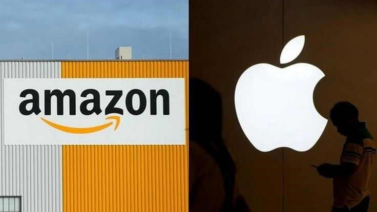 Its Amazon vs Apple in the Race to Be the First Trillion Dollar Company  Apple the worlds most valuable publicly listed company is in danger of being beaten by Amazon.comto the $1 trillion (roughly Rs. 65 lakh crores) mark.  Wall Streets optimism about last years 10th anniversary iPhone had propelled Apples stock 24 percent higher over the past 12 months giving it a market capitalisation of $893 billion (roughly Rs. 58 lakh crores).  That is $141 billion more than the $752 billion (roughly…