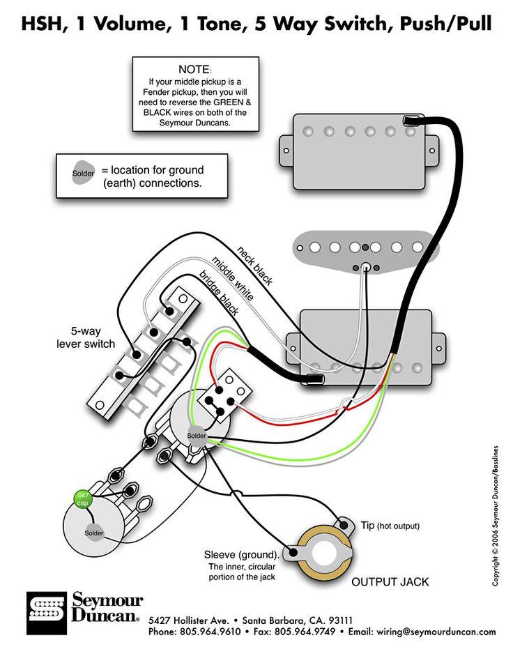Guitar Pickup Wiring Guitar Circuit Diagrams