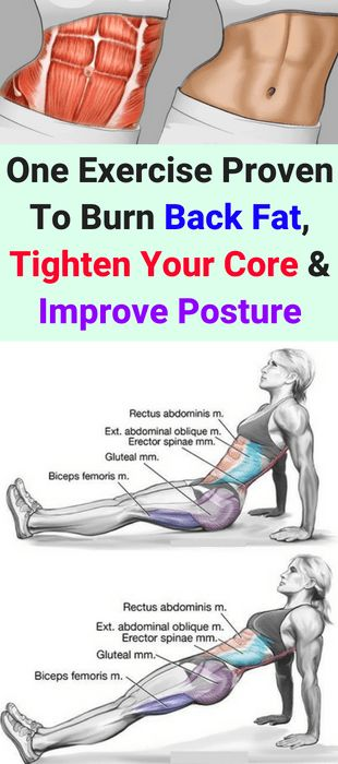 This 1 Exercise Proven To Burn Back Fat, Tighten Your Core & Improve Posture!!! - All What You Need Is Here
