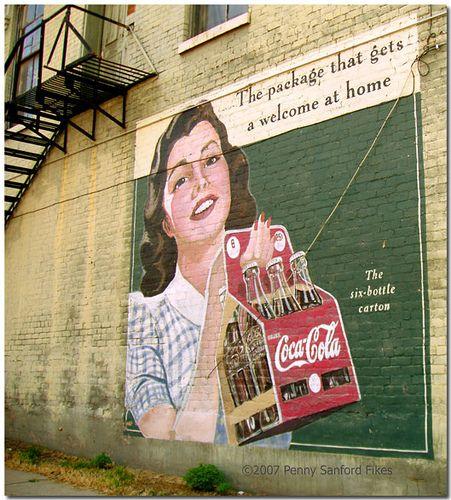 90 best vintage mississippi images on pinterest vintage for Coca cola wall mural