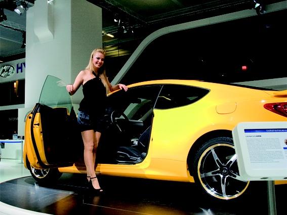 Subaru at the Francfort Motorshow 2009