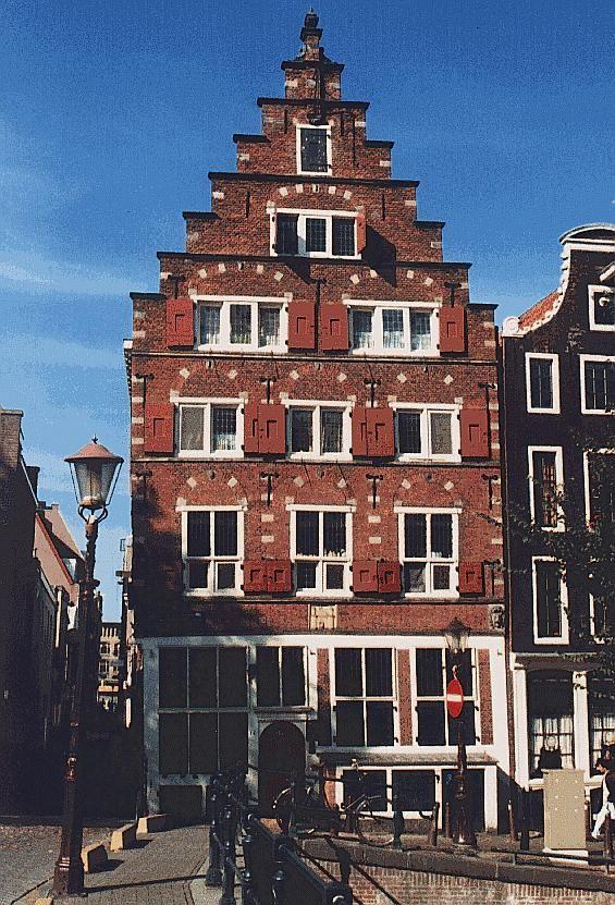 Een huis in Amsterdam, beautiful!
