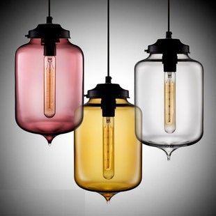 Niche Modern Glass Pendant Lamp Contemporary Dining Room Pendant Light  Italian Design Lighting