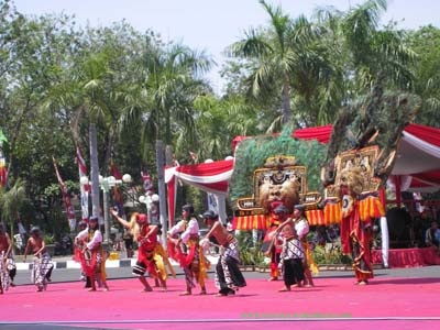 Reog Ponorogo, originally from Ponorogo, East Java, Indonesia