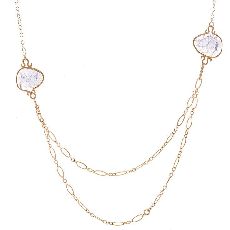 Drape Tanzanite Necklace