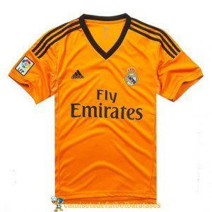 camisetas real madrid futbol portero amarillo dorado segundo 2013-2014 @ http://www.camisetadefutbolbaratases.com/la-liga-camiseta-real-madrid-c-50_56.html