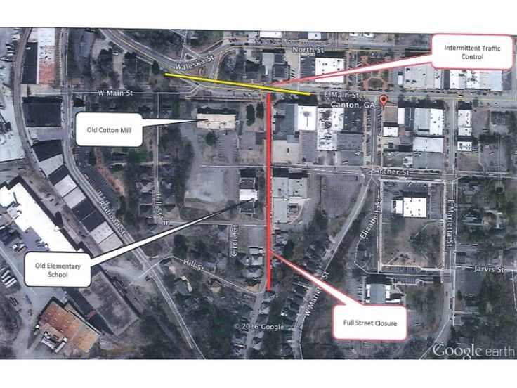 STREET CLOSURE TO ACCOMMODATE MOVIE FILMING IN CANTON
