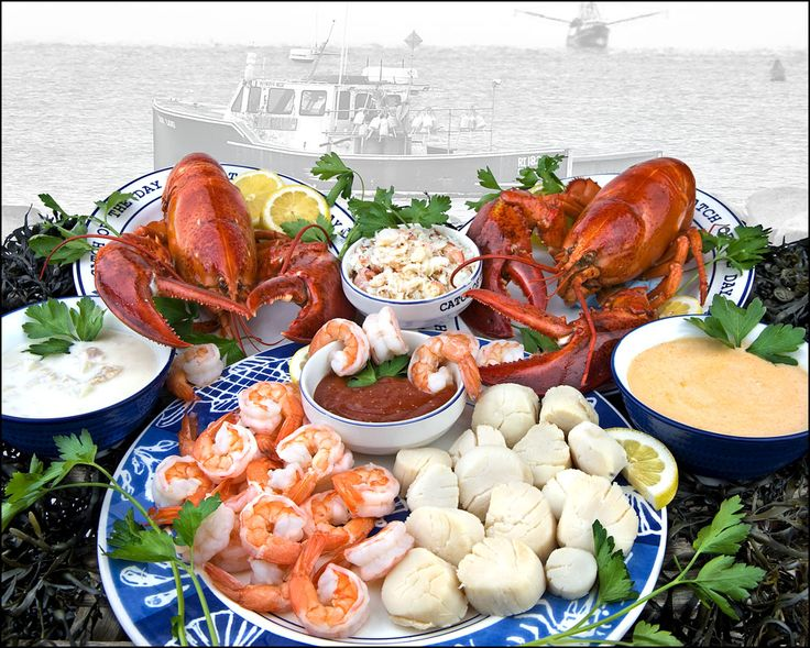 Maine Lobster Seafood Extravaganza Dinner! Delicious and easy to prepare!