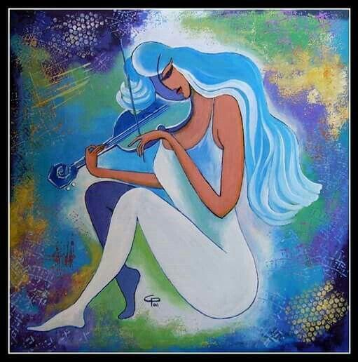 Blue Romance,art by C.Paunescu