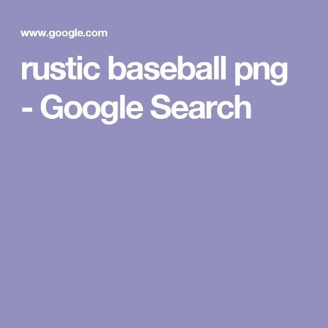 rustic baseball png - Google Search
