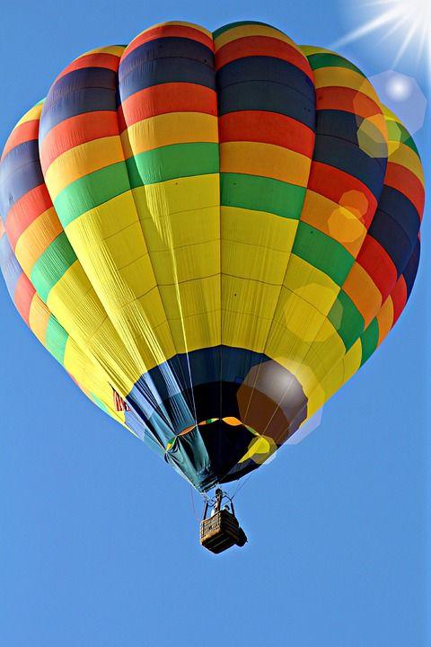 Horké, Vzduch, Balón, Horkovzdušný Balón Jízda