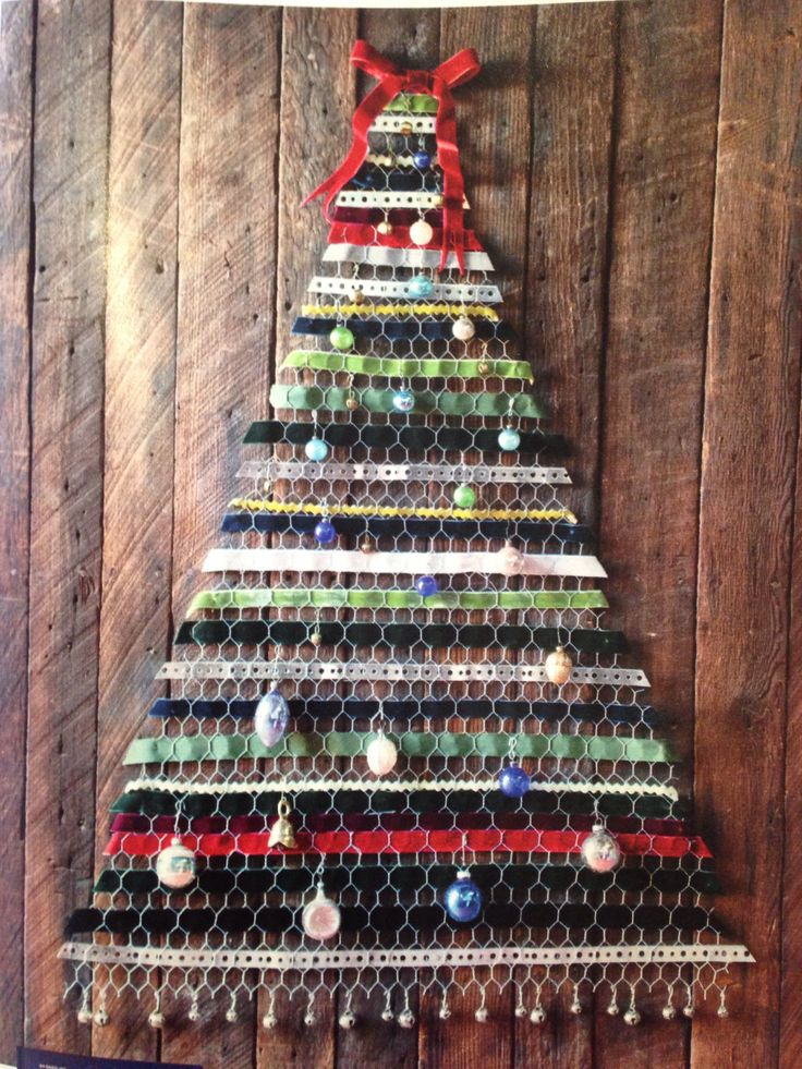 Chicken wire christmas trees and wire on pinterest