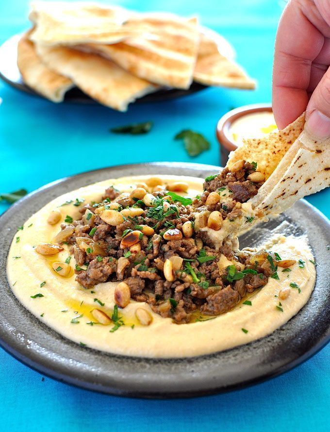 Whether as a starter or a small meal, this is a show stopper hummus…