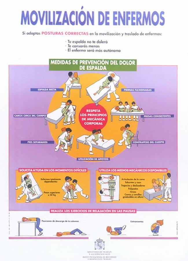 Póster Movilización de Enfermos - I.N.S.H.T.