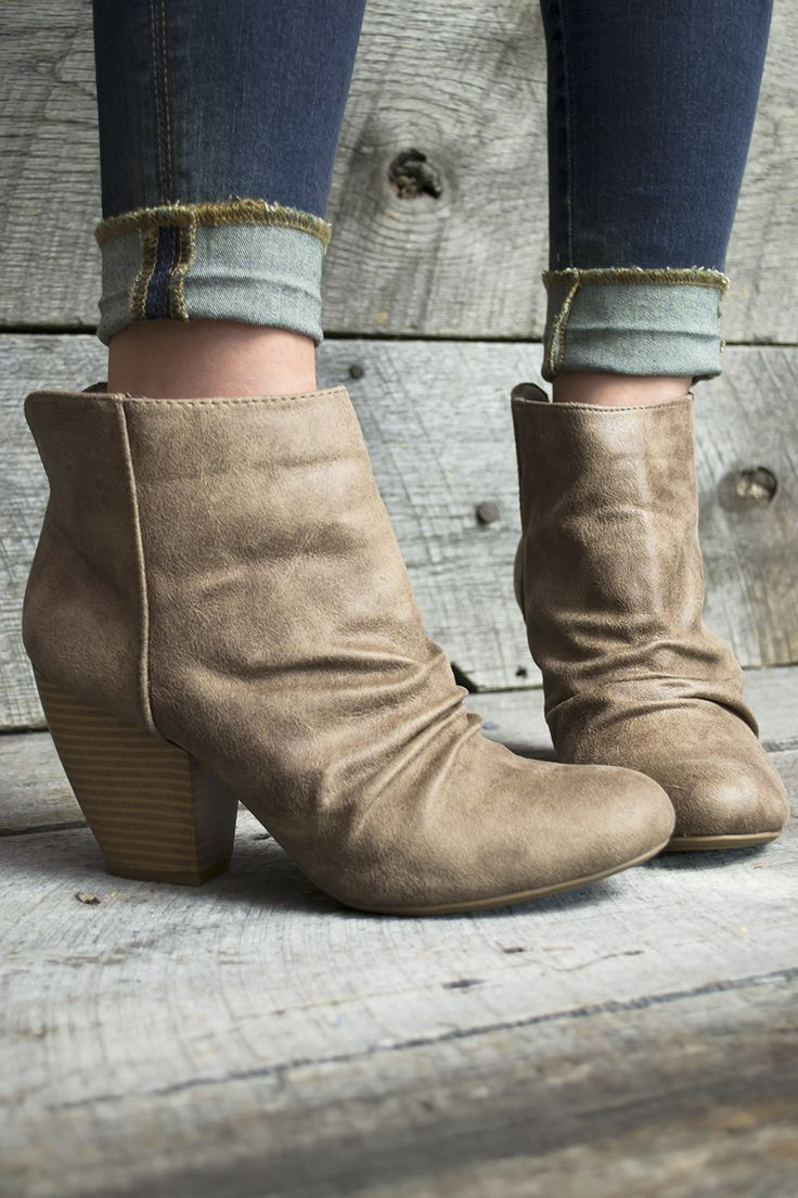 Distressed Diva Ankle Boots   Siloe
