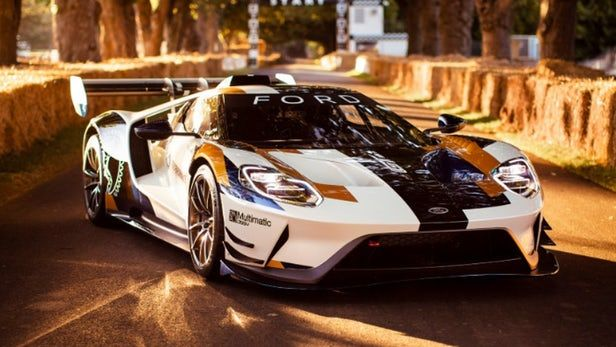 Ford Roars Into Goodwood With A 700 Hp Gt For The Track Ford Gt