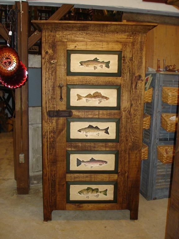 38 Best Images About Fishing Decor On Pinterest Folk Art